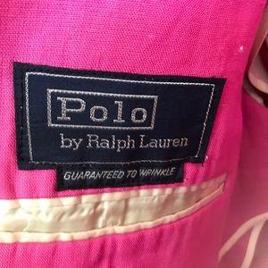 Polo by Ralph Lauren Suits & Blazers - Pink Polo Ralph Lauren Linen Blazer